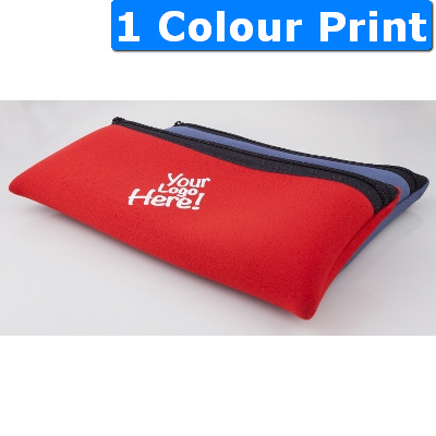 Neoprene Small Pencil Case with Zip (557_ABA)