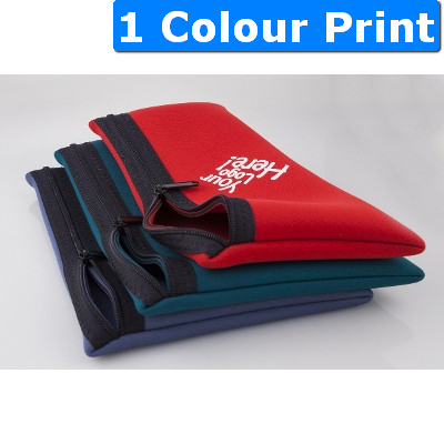 Neoprene Large Pencil Case Zip (558_ABA)