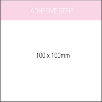 Stuk Note Pad 100x100White 2 Col 25 Leaf (SN100X100WH2_OXY)