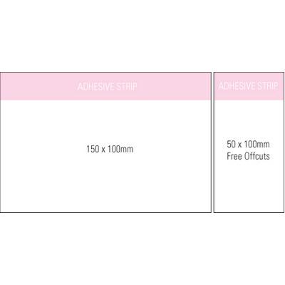 Stuk Note Pad 150x100 White 1col 25 Leaf (SN150X100WH1_OXY)