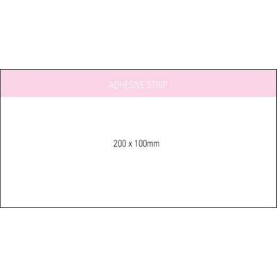 Stuk Note Pad 200x100 White 1col 25 Leaf (SN200X100WH1_OXY)