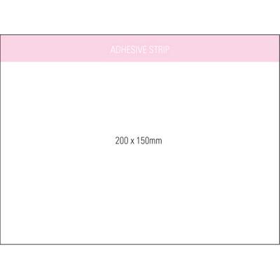 Stuk Note Pad 200x150 White 1col 25 Leaf (SN200X150WH1_OXY)