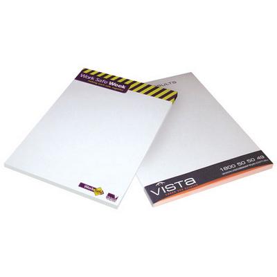 A6 Writing  pad  1c 10 Leaf (A6PAD1C10_OXY)