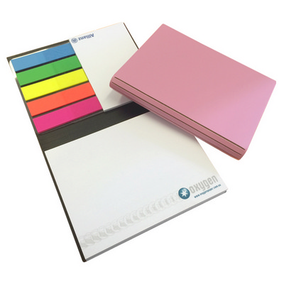 Bonded Leather Combination Unprinted Cover, CPP, 1 Col Pad (CPPBLCOV1C_OXY)