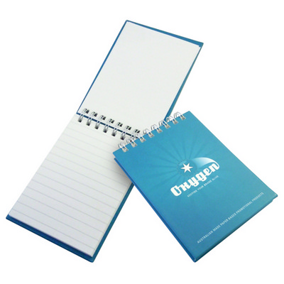 Case Bound Wiro Note Book 50 L 4 Col Cover, 1 Col leaves (CASEBOUNDA7WIRO50L4-1-1_OXY)