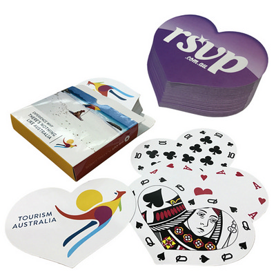Playing cards digital Heart Shape (PLAYINGCARDSD3_OXY)