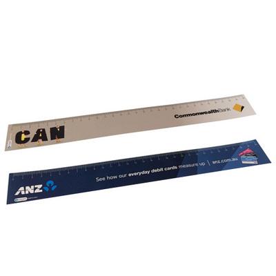 Ruler 350 micron plastic CMYK (30CMPLASTICRU_OXY)