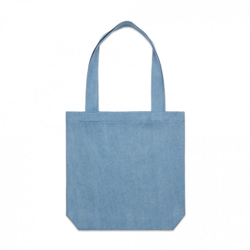 Denim Carrie Tote (1012_AS)
