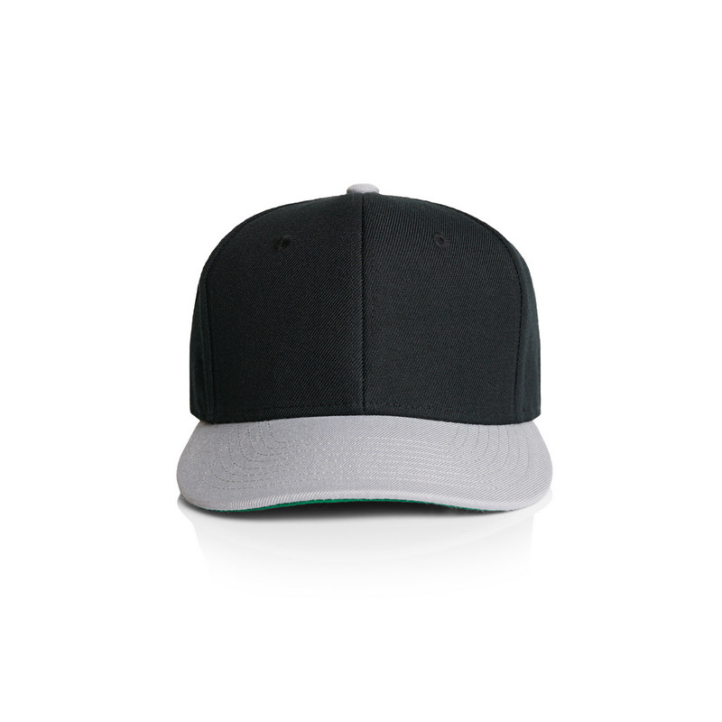 Clip Two-Tone Snapback Cap (1102_AS)