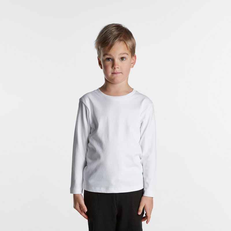 Kids Long Sleeve Tee - (3007_AS)