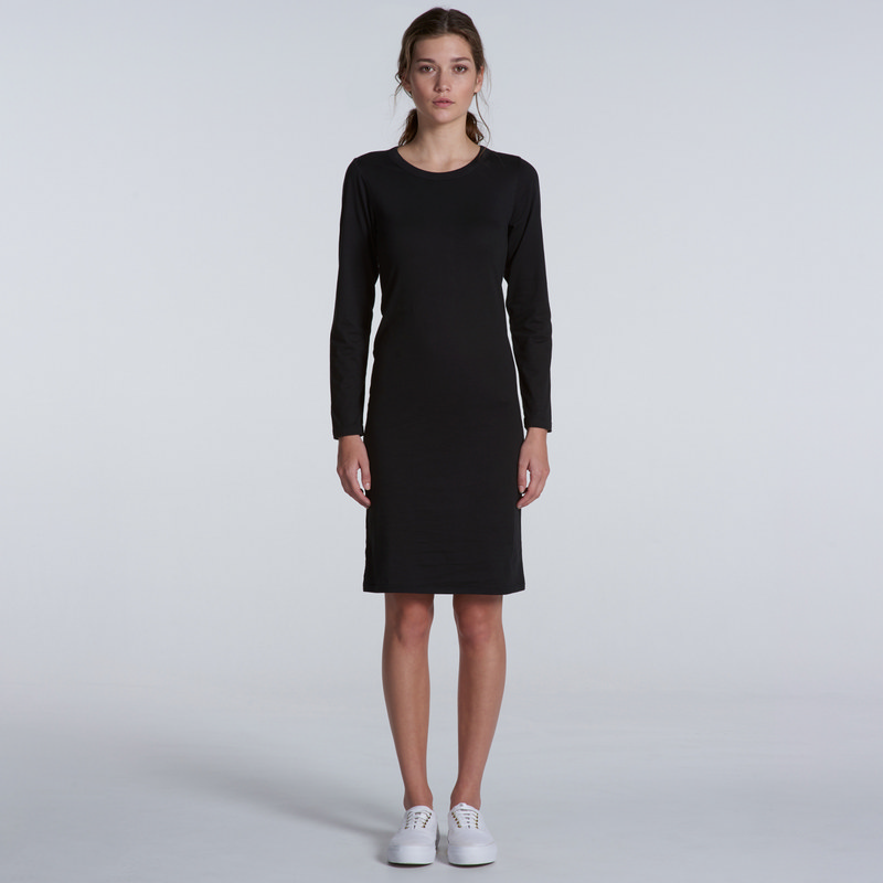 Mika Long Sleeve Dress (4033_AS)