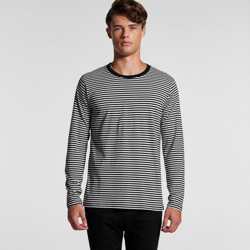 Bowery Stripe Long Sleeve Tee (5061_AS)