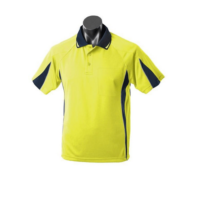 Mens Hi Viz Eureka Polo with Pocket (1304P_AUSP)