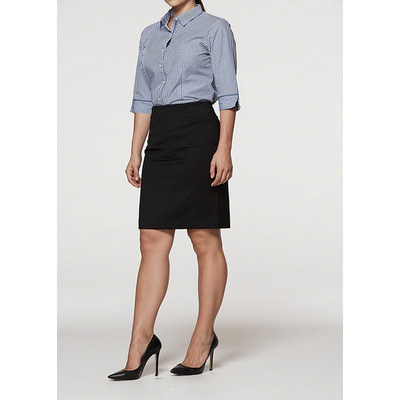 Ladies Knee Length Skirt (2802_AUSP)