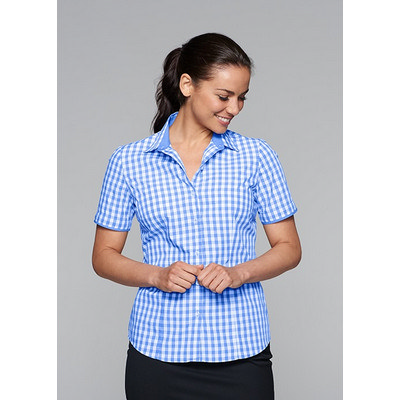 Devonport Ladies S/S Shirt (2908S_AUSP)