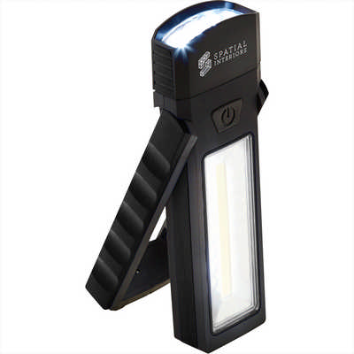 COB Magnetic Worklight with Torch and Stand (1226-54_BUL)