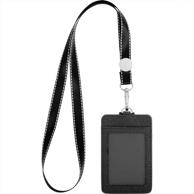 RFID Card holder with Lanyard (7142-14_BUL)