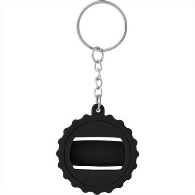 Beer Cap Keychain with Bottle Opener (SM-2314_BUL)