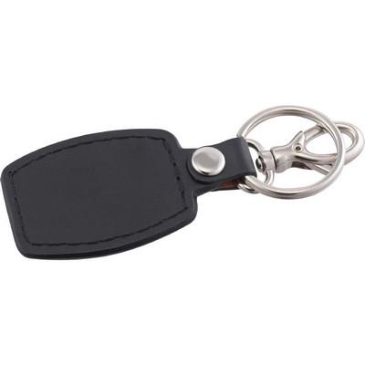 Brushed Plate Key Ring (SM-2386_BUL)