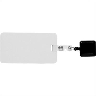 Easy To Go Square Badge Holder (SM-2466_BUL)