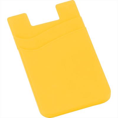 Dual Pocket Slim Silicone Phone Wallet (SM-2562_BUL)