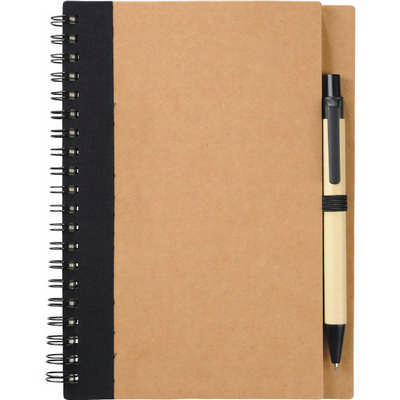 The Eco Spiral Notebook with Pen (SM-3468_BUL)