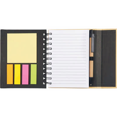 Lock-it Mini Spiral Notebook (SM-3547_BUL)