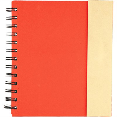 Lock-it Spiral Notebook (SM-3647_BUL)