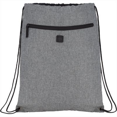 Graphite Drawstring Sportspack w Earbud (SM-5877_BUL)