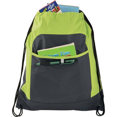 Gray Color Pop Drawstring Sportspack (SM-7055_BUL)