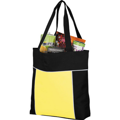 Broadway Zippered Business Tote (SM-7313_BUL)