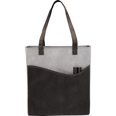Rivers Pocket Non-Woven Convention Tote (SM-7325_BUL)