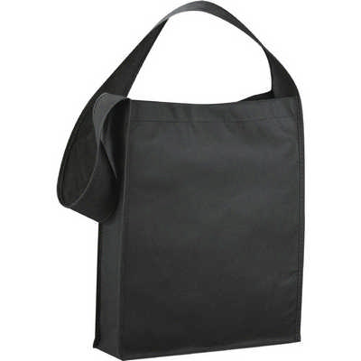 Cross Town Non-Woven Shoulder Tote (SM-7331_BUL)