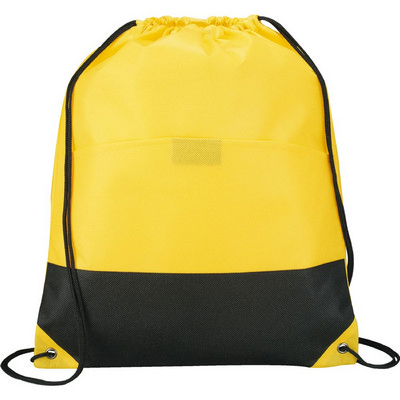 Coast Non-Woven Drawstring Sportspack (SM-7347_BUL)