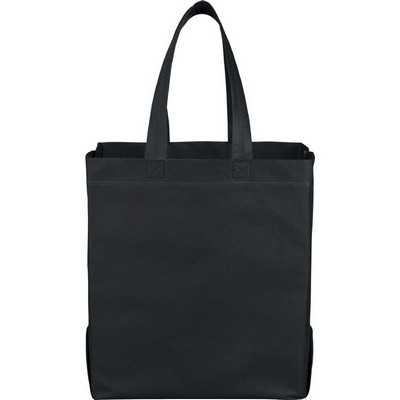 Liberty Heat Seal Non-Woven Grocery Tote (SM-7411_BUL)