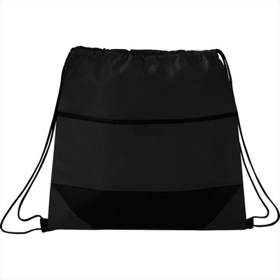 Angles Non-Woven Drawstring Bag (SM-7743_BUL)