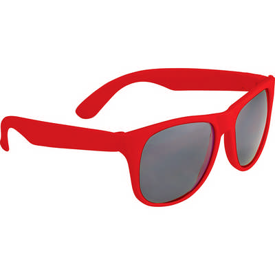 Retro Promotional Glasses - Solid (SM-7861_BUL)