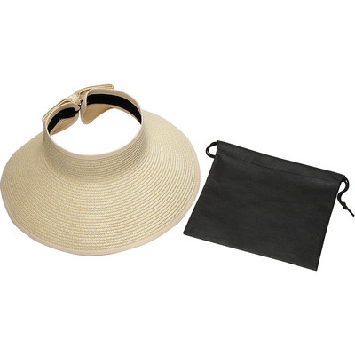 Beachcomber Roll-Up Sun Visor with Pouch (SM-7922_BUL)