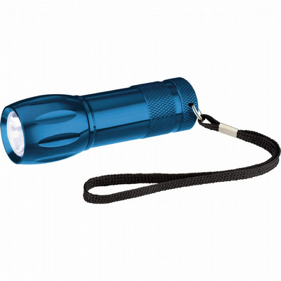 Metal LED Flashlight (SM-9819_BUL)