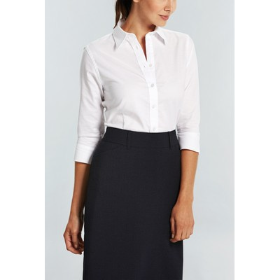 Gloweave Womens 3/4 Sleeve Business Shirt (1025WL_GLO)