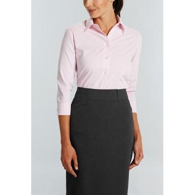 Gloweave Womens 3/4 Sleeve Business Shirt (1251WL_GLO)