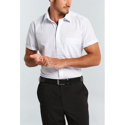 Gloweave Mens Short Sleeve Business Shirt (1295S_GLO)