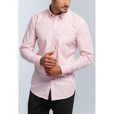 Gloweave Mens Micro Gingham Hospitaility Shirt (1637HL_GLO)