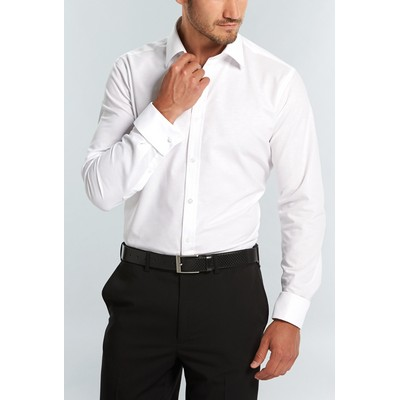 Gloweave Mens Long Sleeve French Cuff Business Shirt (1716L_GLO)