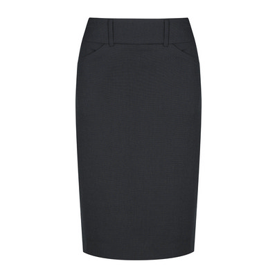 Womens Navy Elliot Womens Washable Pencil Skirt - Navy (1724WSK-Nav_GLO)