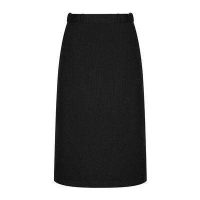 Womens Black Elliot Womens Washable A Line Skirt - Black (1725WSK-Bla_GLO)