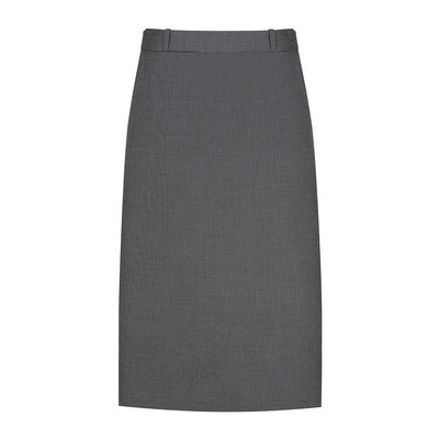 Womens Charcoal Elliot Womens Washable A Line Skirt - Charcoal (1725WSK-Cha_GLO)
