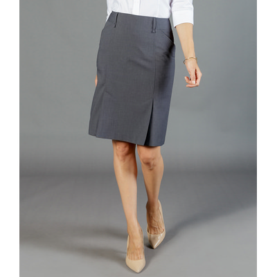 Womens Box Pleat Skirt (1766WSK_GLO)