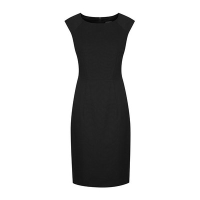 Womens Black Elliot Womens Washable Dress - Black (1767WD-Bla_GLO)