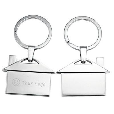 House Shape Opener Key Ring (JK011_JS)